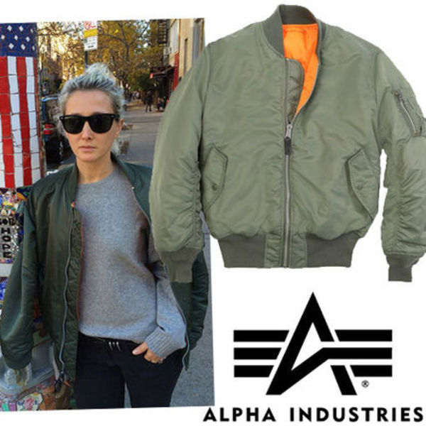 ●ALPHA INDUSTRIES● MA-1 Flight Bomberジャケット Sage Green