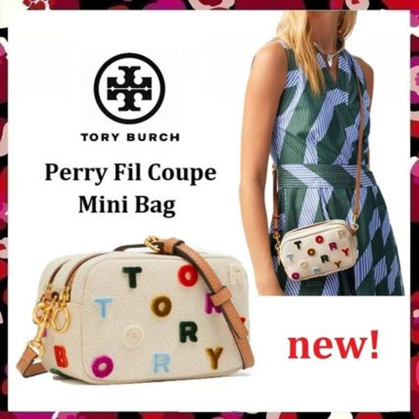 新色 セール Tory Burch Perry Fil Coupe Mini Bag