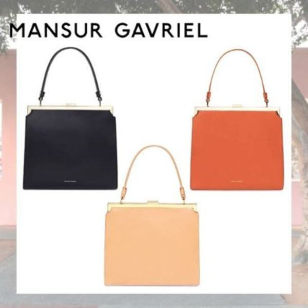 【MANSUR GAVRIEL】Vegetable tanned Elegant エレガント バッグ