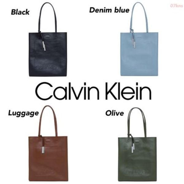 【Calvin Klein】Nora Double Handle Tote