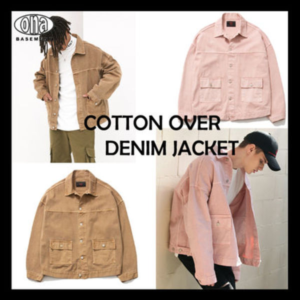 [ONA] Cotton Over Denim Jacket★日本未入荷★ 2色