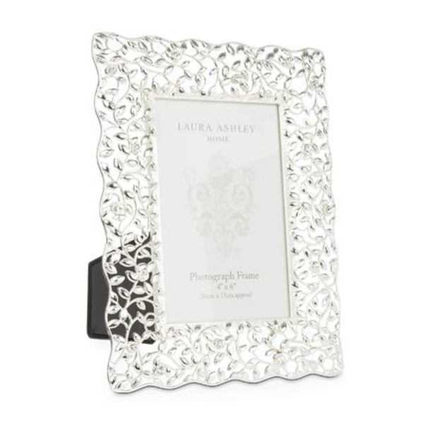 【Laura Ashley】Diamante Silver Plated フォトフレーム
