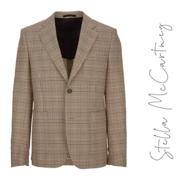 19SS Stella Mccartney Blazer チェック ボビーブレザー jacket