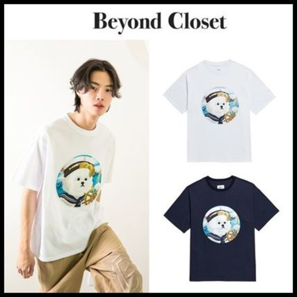 ☆beyond closet☆ 半袖Tシャツ PINUP COKE DOG PATCH 1/2 2色