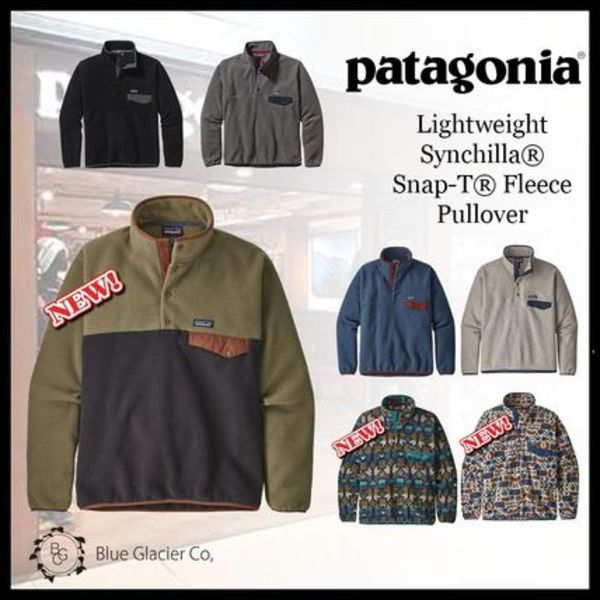 完売サイズ続出!【patagonia】Lightweight Synchilla Snap-T
