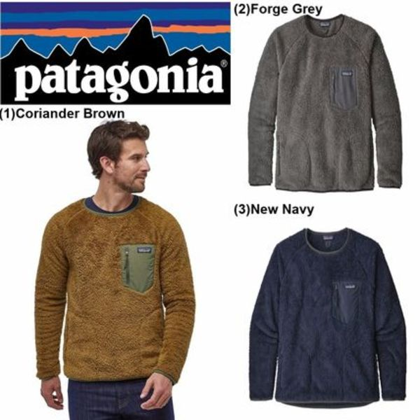 【Patagonia】☆日本未入荷☆Patagonia  Los Gatos Fleece Crew