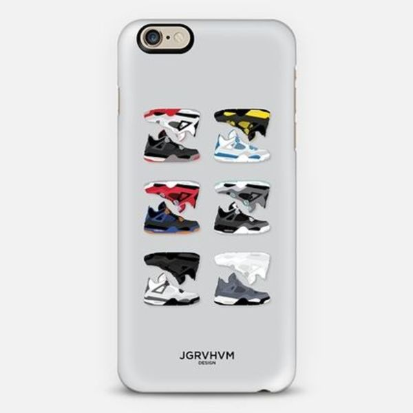 *casefity*オシャレ♪Nike Air Jordan 4 iPhoneケース