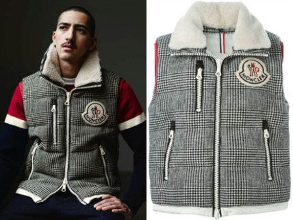 15AW MA017 Moncler a 'Bastien' padded gilet