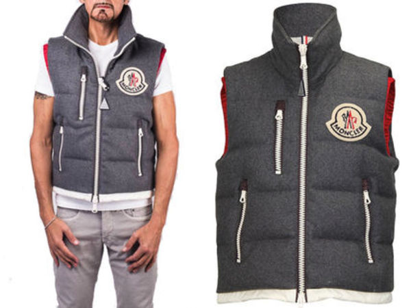 15AW MA011 Moncler a 'Bastien' padded gilet