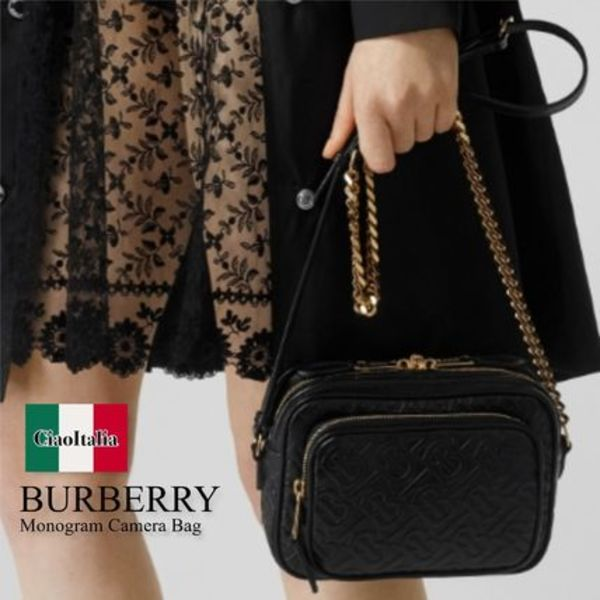 Burberry monogram camera bag