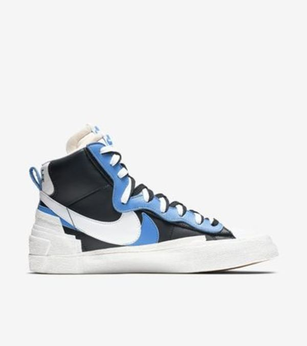 Nike × sacai / Blazer High  White Black Legend Blue