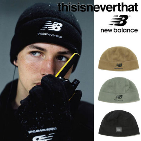 〜thisisneverthat〜NB TNT PT FLEECE HAT 全3色 19新作NBコラボ