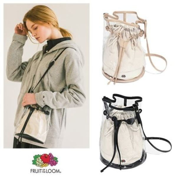 FRUIT OF THE LOOM★PVC BUCKETBAG