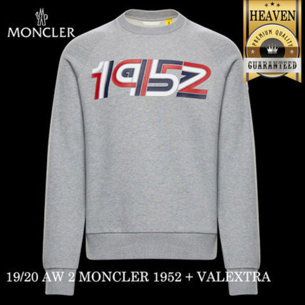 累積売上総額第1位!MONCLER GENIUS★1952★SWEATSHIRT_GREY