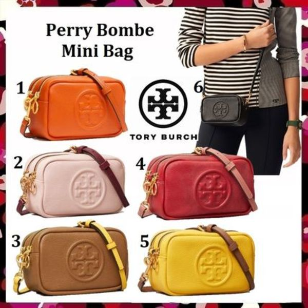新色 セール Tory Burch Perry Bombe Mini Bag