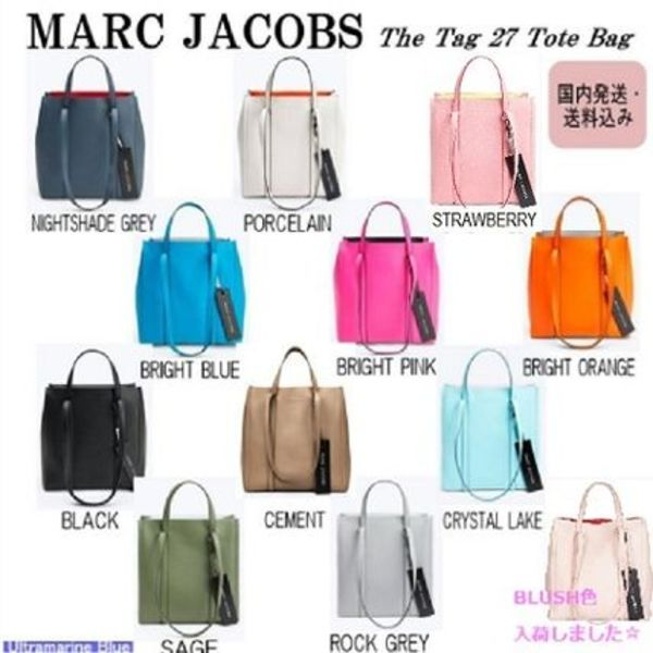 MARC JACOBS【国内発送】The Tag 27 Tote Bag☆