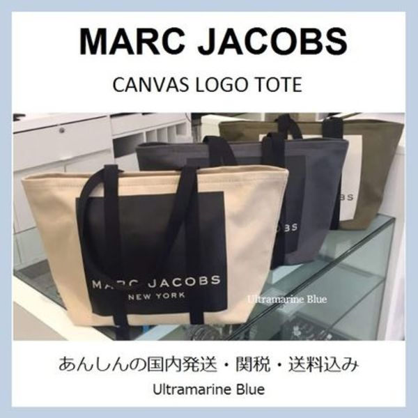 MARC JACOBS★Canvas logo tote★キャンバス・トート☆