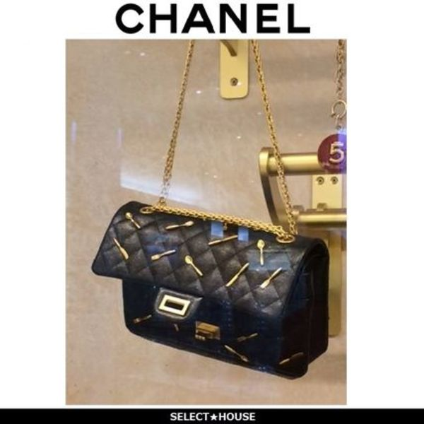 【CHANEL】2015-2016AW 素敵!可愛い!スプーン&フォークバック255