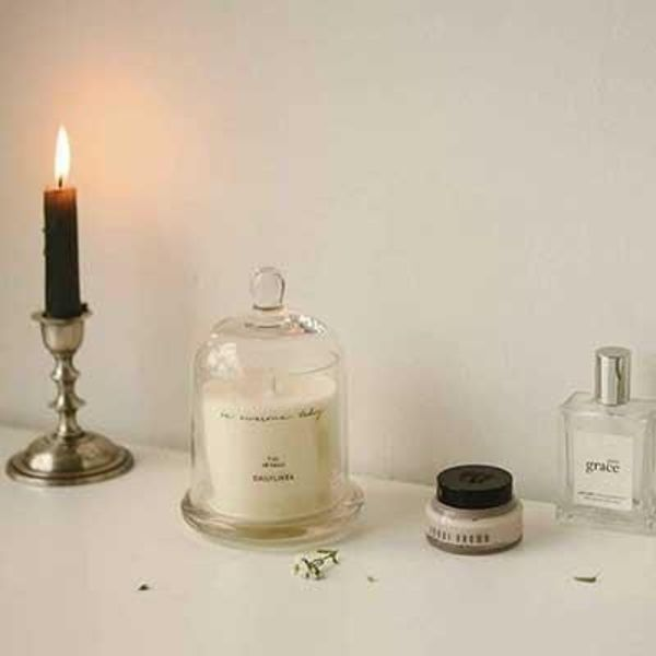 【Dailylike】 Dome glass candle