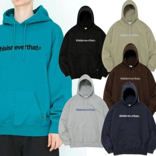 ★thisisneverthat★T-LOGO HOODED SWEATSHIRT 6色