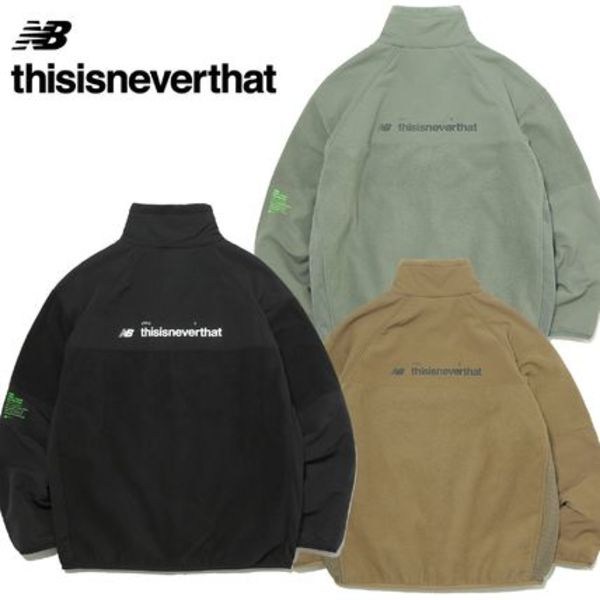 ★thisisneverthat★New Balance X TINT PT FLEECE JACKET 3色