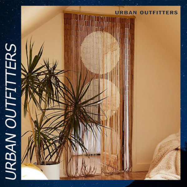 Urban Outfitters Big Dot Bamboo ビーズ カーテン インテリア