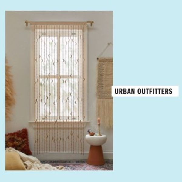 UrbanOutfitters☆Crescent Beaded Curtain☆ビーズカーテン☆N