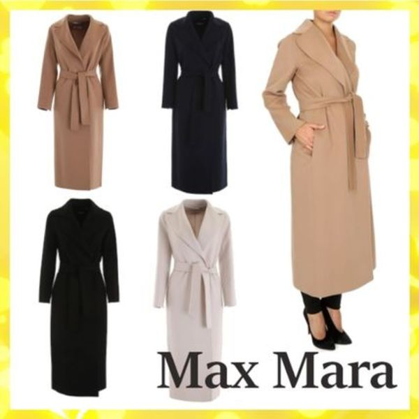 【国内発送・送料無料】MAX MARA POLDO Long Wool coat