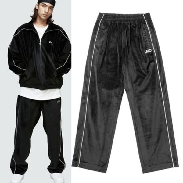LMC★LMC VELOUR TRACK PANTS black