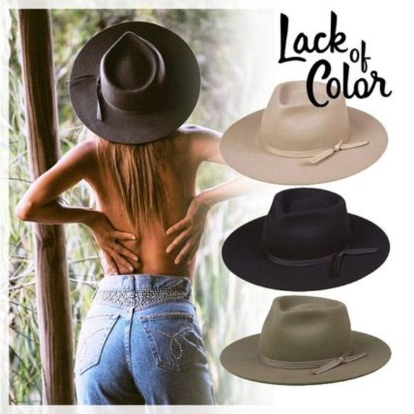 ☆Lack of color☆ヴィンテージハット/Vintage Classic fedora