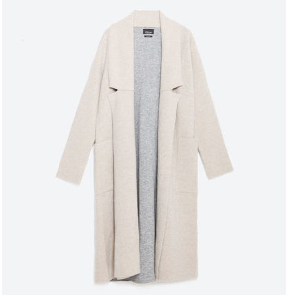 """ZARA""DOUBLE-SIDED COAT"