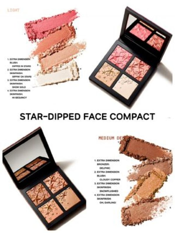〈MAC〉★2019 ホリデー★STAR-DIPPED FACE COMPACT