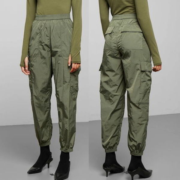 """WEEKDAY"" Max Sporty Trousers Green"