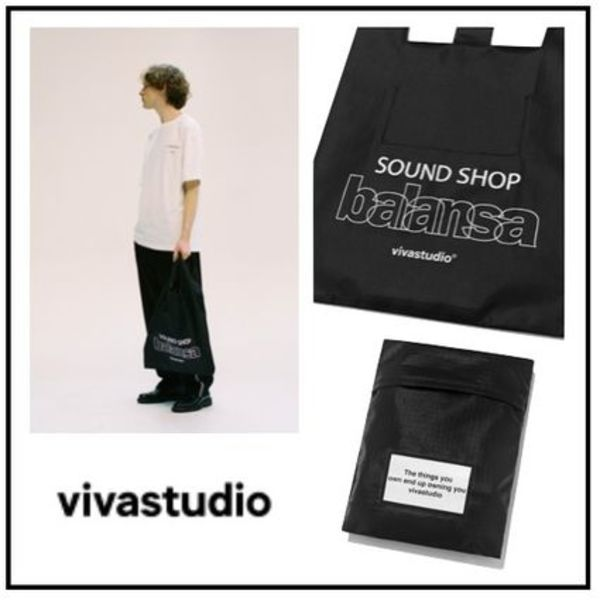 韓国ブランド[VIVASTUDIO]VIVASTUDIO X BALANSA SHOPPER BAG