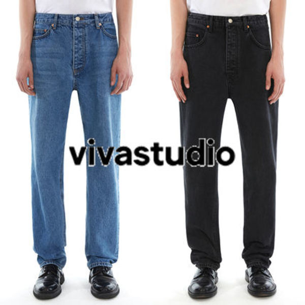 〜vivastudio〜SOCKET JEANS IS 〈BLUE,BLACK〉超人気のviva...