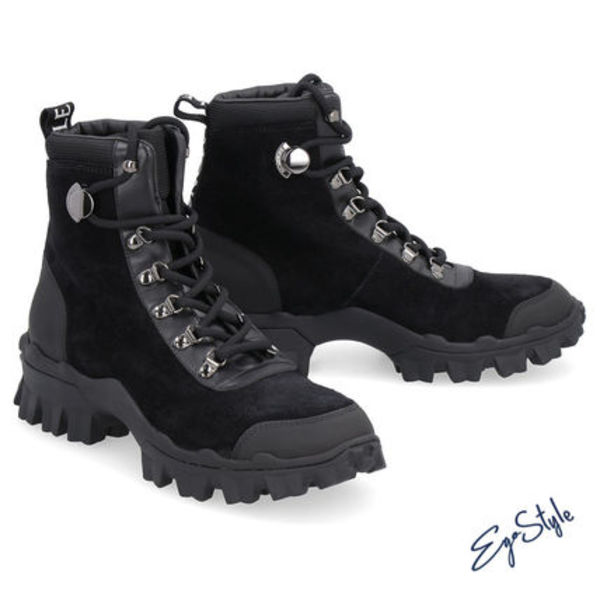 HELIS SUDE LACE-UP BOOTS