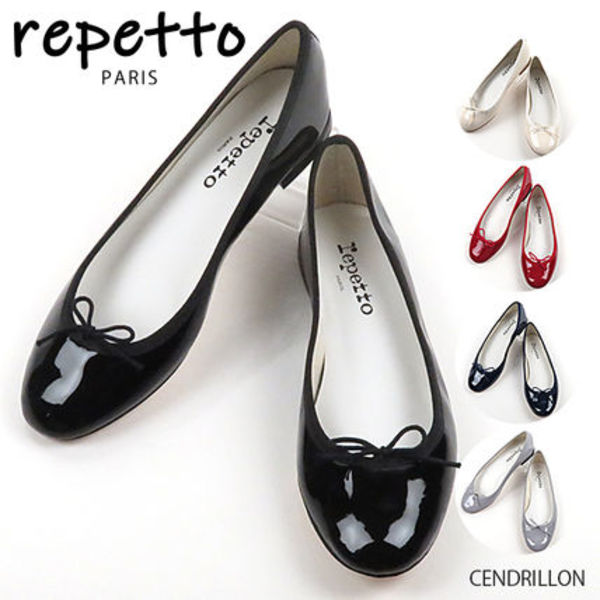 2019SS 新作 repetto Cendrillon Patent  バレエパンプス V086V