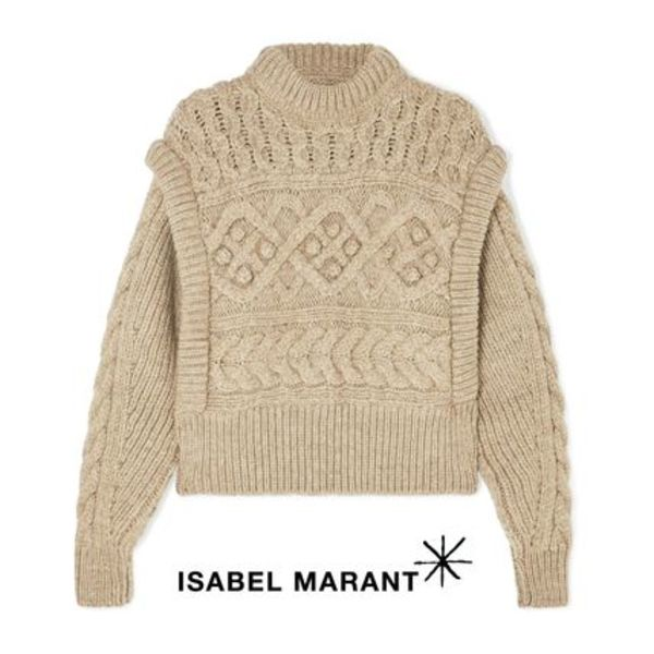 ∞∞ Isabel Marant ∞∞ Milane cable-knit セーター☆