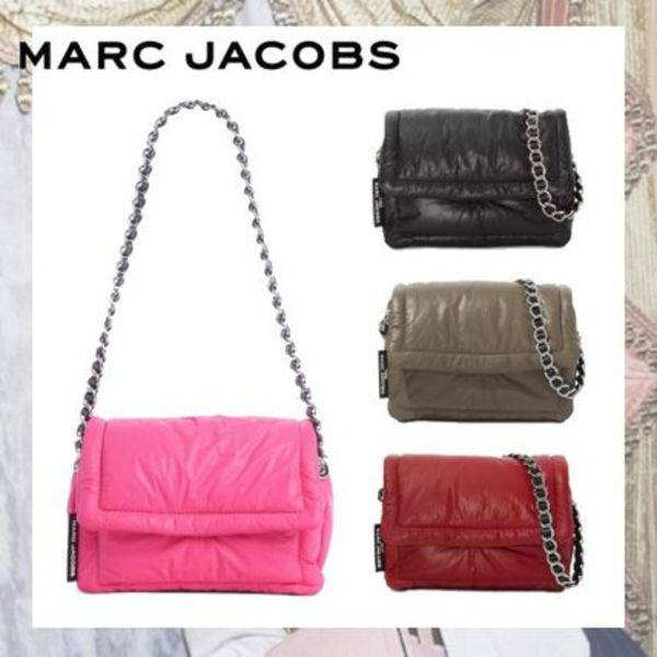 【MARC JACOBS】The Pillow Bag ピロー レザー ショルダーバッグ