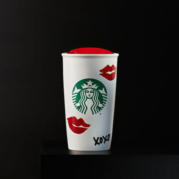 NEW 2015Winter★US STARBUCKS★Lips Double Wall Traveler