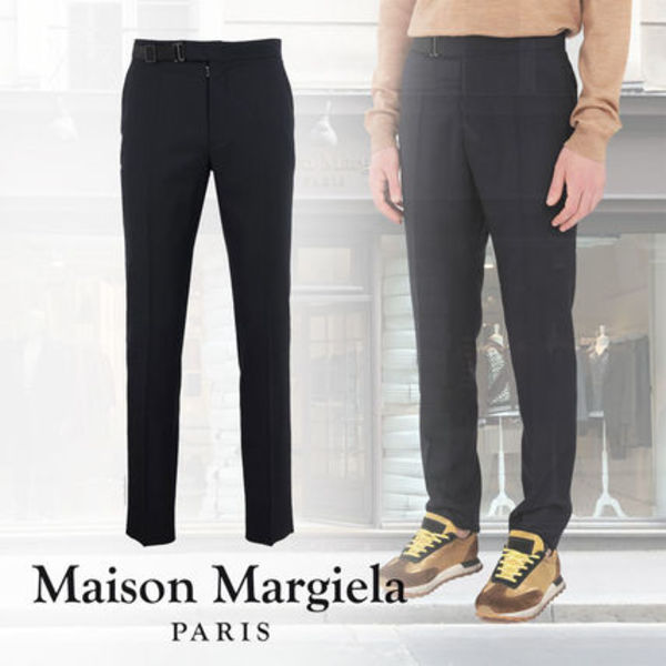 2019-20AW【★Maison Margiela★ Side-strap trousers】