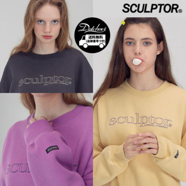 SCULPTOR Retro Outline Sweatshirt NE1882 追跡付