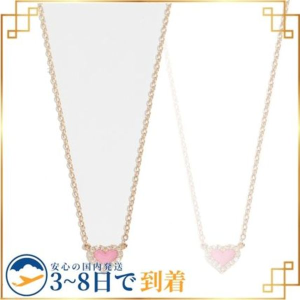 関税込◆14k Diamond Heart Necklace