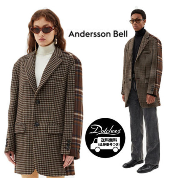 Andersson Bell UNISEX CONTRAST CLASSIC JACKET OH35 追跡付