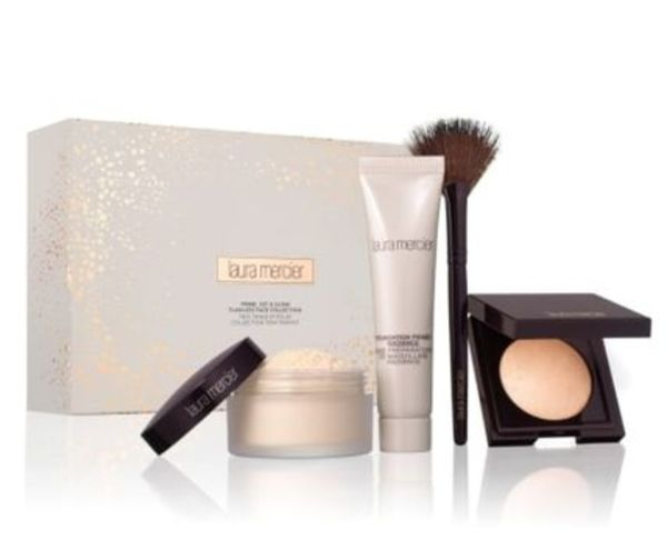 LAURA MERCIER★Prime, Set & Glow Flawless Face Collection
