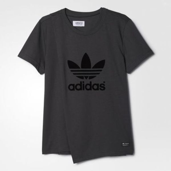 新作★ロゴTee 【adidas originals】Layered Trefoil Tee 送料込
