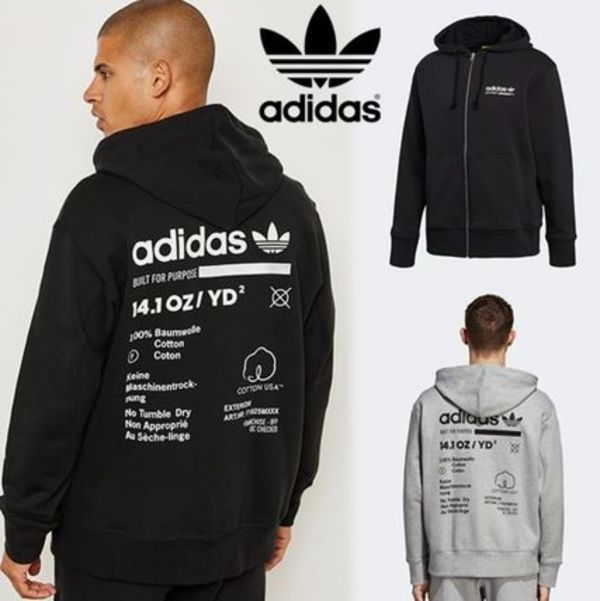 ADIDAS ORIGINALS☆KAVAL FULL ZIP-UP フードパーカー DH4989