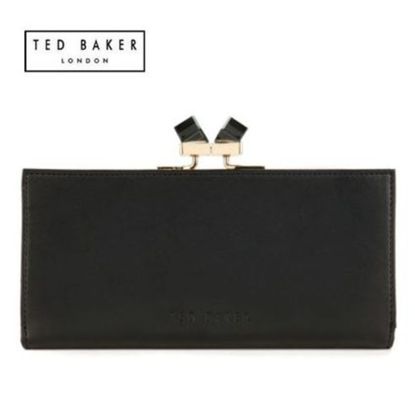 "☆SALE☆【TED BAKER】""WENNY""クリスタル飾り☆長財布"