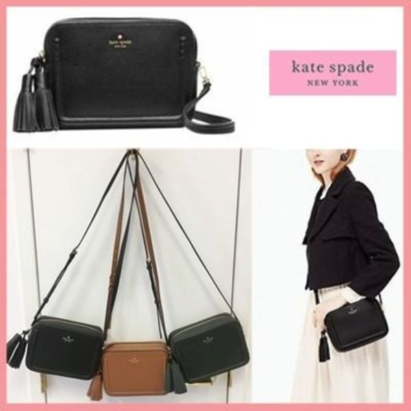 【kate spade】Wタッセル付き♪ orchard street arla ポシェット