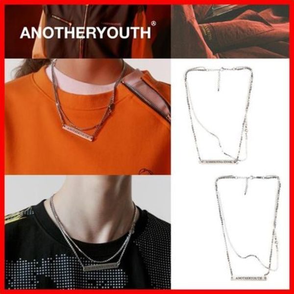 ★韓国の人気★【ANOTHERYOUTH】★layered necklace★